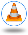VLC Media Player icon button
