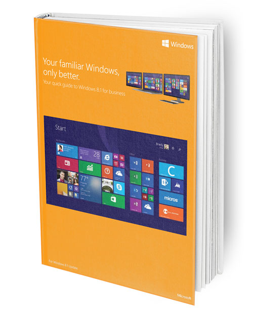 Windows 8.1 quick start guide ebook picture